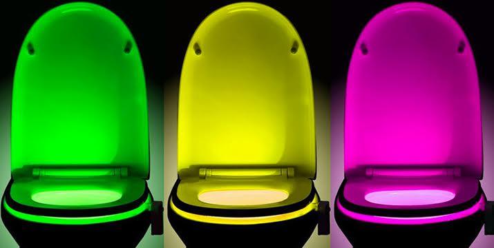 14,90€ για ένα LED Φωτιστικό με 8 Χρώματα και Αισθητήρα