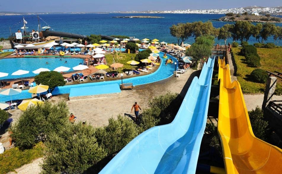 4* Porto Paros Hotel Villas & Aqua Park - Κολυμπήθρες