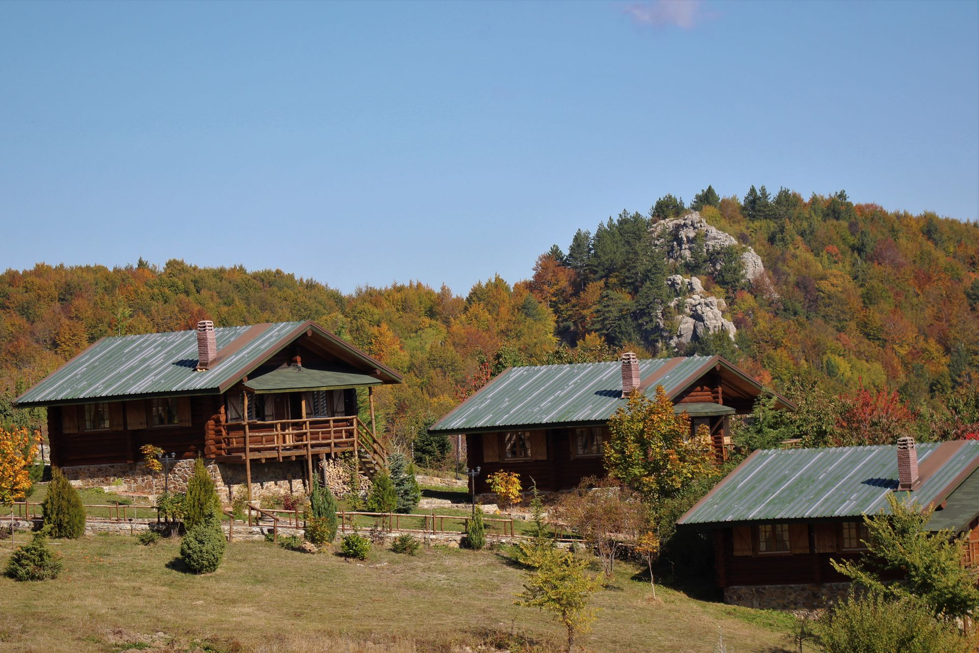 Sfendamos Wood Village - Νάουσα ✦ 4 Ημέρες (3 Διανυκτερεύσεις)