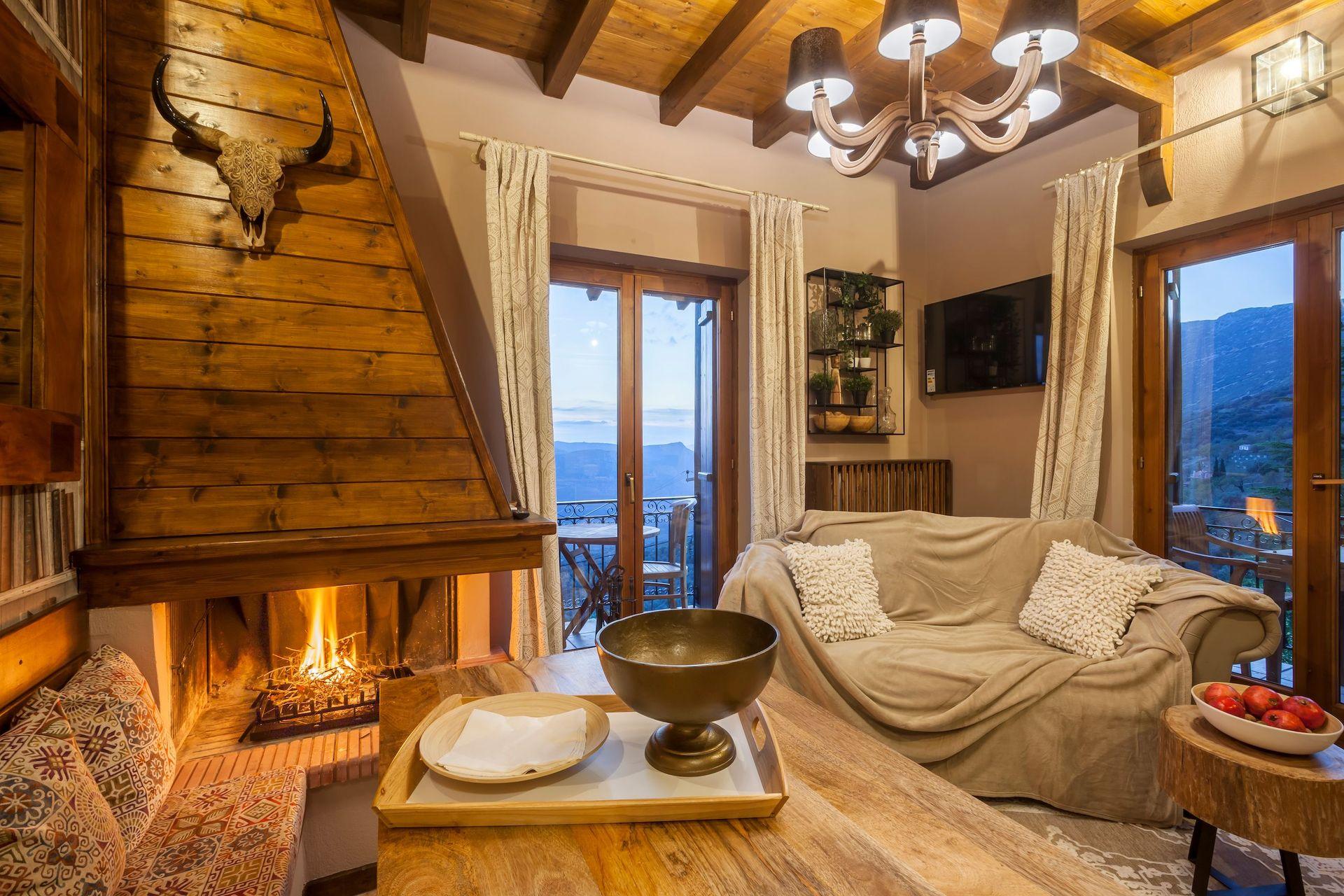 Rock Dandy Mountain House Arachova - Αράχωβα ✦ 5 Ημέρες