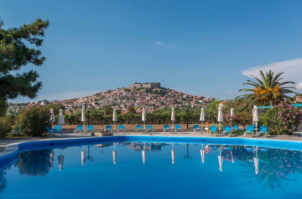 Delfinia Hotel & Bungalows - Μόλυβος, Λέσβος ✦