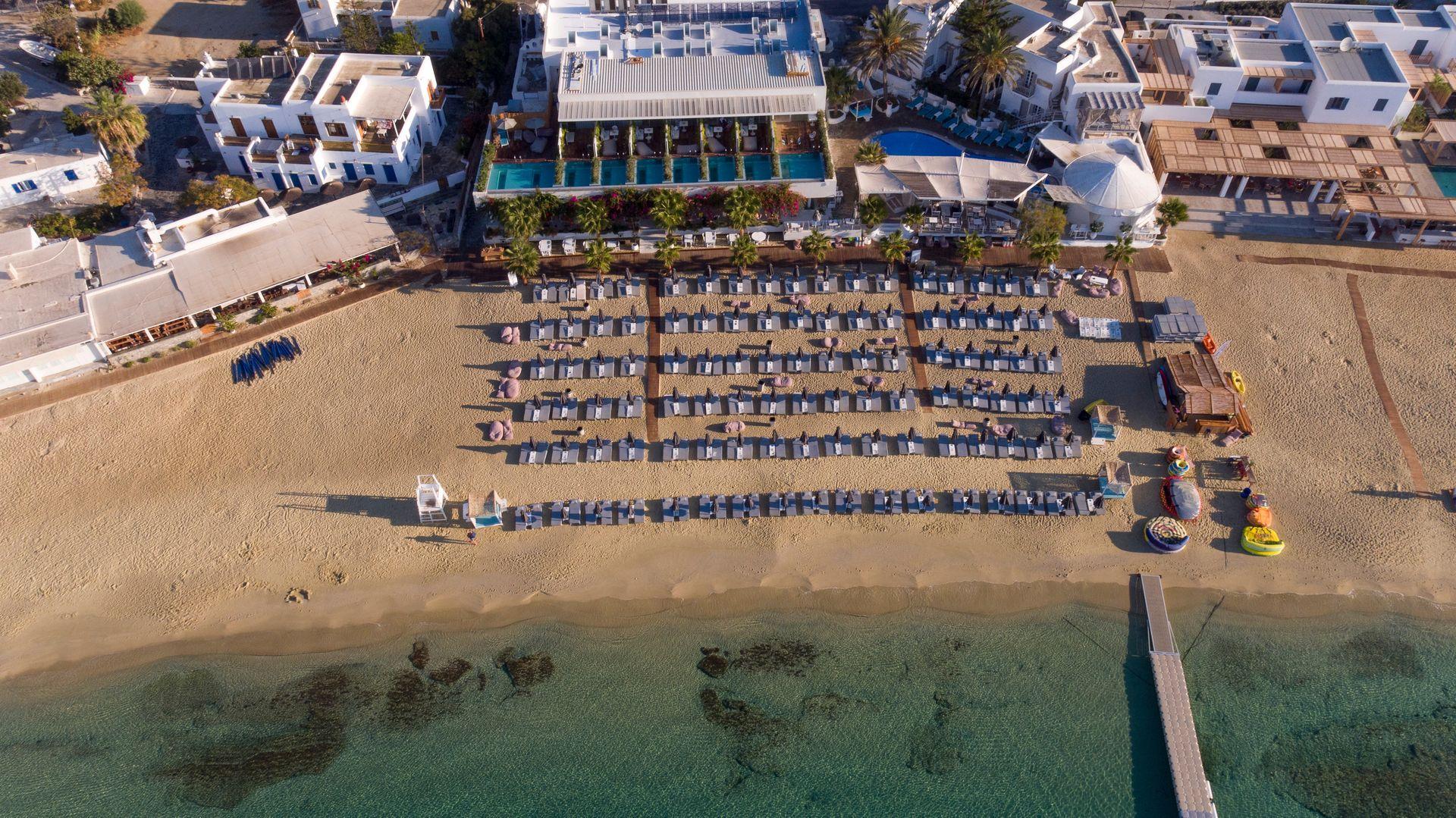 5* Mykonos Dove Beachfront Hotel - Μύκονος ✦ 2 Ημέρες