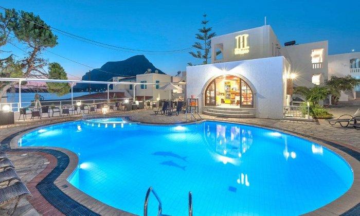 H Hotel Kalypso | Παραλία Μυρτιές, Κάλυμνος
